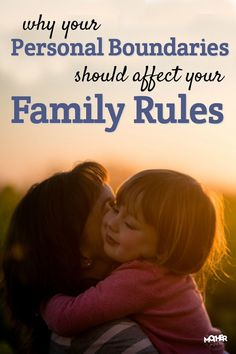 There's a reason you might not be consistent with your family rules, and it probably isn't what you think! This post will dive into personal boundaries, family rules, and strong willed kids. via @momfarfromhome