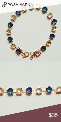 Genuine Swarovski Rhinestone Bracelet Free shipping! Swarovski Jewelry Bracelets