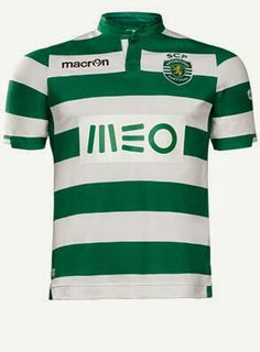 Sporting clube de Portugal  Home shirt 2014 / 2015
