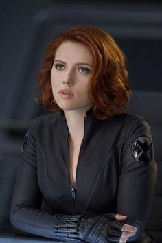 Scarlett Johansson as Black Widow in The Avengers (2012)