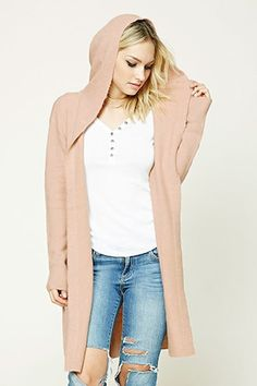 Contemporary Hooded Cardigan | FOREVER21 - 2000206593