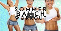 Fitness-Star Sophia Thiel zeigt Ihnen 5 Übungen zu schönen Bauchmuskeln!