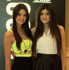 Kendall & Kylie Jenner I don't believe ther twins, the one on the right is way cuter then the other.