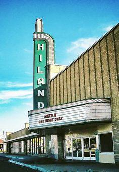 Hiland Theatre - Albuquerque, New Mexico New Mexico Style, New Mexico Usa, Santa Fe, Montezuma Castle, Albuquerque News, Streamline Moderne, Visit Santa, New Mexican, Land Of Enchantment