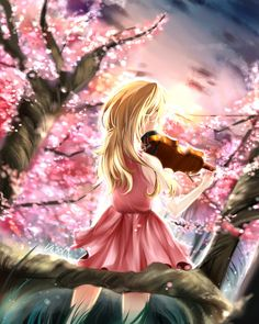 Your Lie in April - twinklestar1994:  Music is freedom - Visola