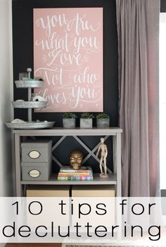 great tips for decluttering