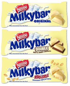 Nestle Milkybar- my favorite!!