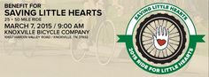 Support Saving Little Hearts with the East Tennessee fundraising Ride For Little Hearts, sponsored in part by National Fitness Center