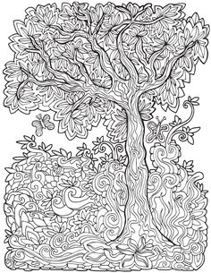 The Tree From Color Land 2 By Steve Vistaunet