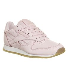 Reebok Classic Leather (w) Porcelain Pink Neutral Crepe - Hers trainers
