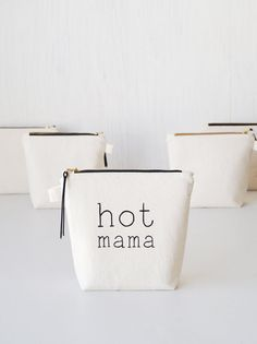 Every mom will definitely appreciate such a fun and uplifting gift - cute and very practical makeup pouch.