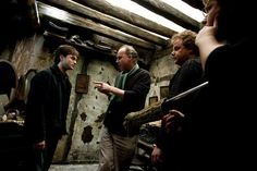 HP and The Deathly Hallows - Behind the scenes.