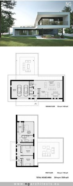 Modern villa Air designed by NG architects www.ngarchitects.eu