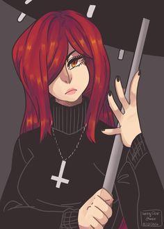 Parasoul from Skullgirls! Skullgirls, Game Character, Character Design, Demon Wolf, Picture Icon, Fairy Tail Manga, Gurren Lagann, Kawaii Girl, Magical Girl