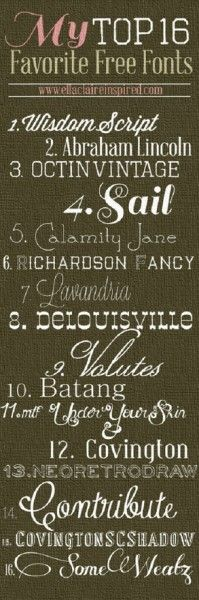 Cool Fonts for Chalkboad Art & My Digital Studio MONDAY Video Tutorial Chalkboard Tips