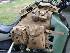Tank Vest - KLR650.NET Forums - Your Kawasaki KLR650 Resource! - The Original KLR650 Forum!