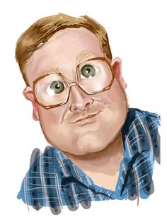 Caricature of Bubbles. Trailer Park Boys, Caricature Drawing, Betty White, Boy Art, Funny Art, Dumb And Dumber, Bubbles, Lol, Caricatures