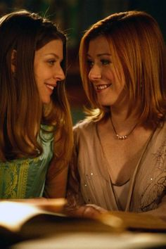 Willow x Tara (Buffy the Vampire Slayer).  This was totally endgame for me. They were perfect together. Didn't care for Kennedy at all