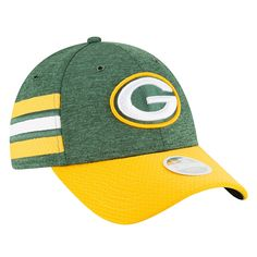 online retailer ec479 68d2b New Era Women s Green Bay Packers On Field Sideline Home Strapback Cap -  Green Adjustable