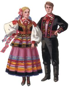 Travel Europe – The Home of Culture – Europe – Visit it and you will love it! Ethnic Outfits, Ethnic Clothes, Folk Costume, Costumes, Polish Folk Art, European Dress, Europe On A Budget, Folklore, Europe Fashion