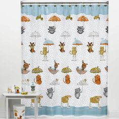 Raining Cats and Dogs Shower Curtain | July 2015 Fave Five