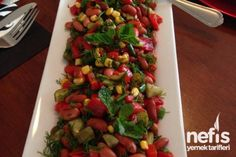 Meksika Fasülyesi Salatası Tarifi