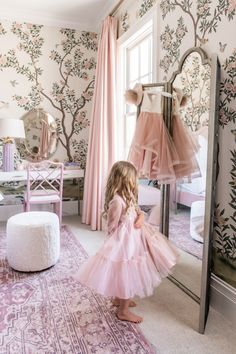 """"""""""" Isla Rose's Room Reveal… – Rach Parcell """""""" Isla Rose's Room Reveal… – Rach Parcell """""""" Girls Room Design, Girl Bedroom Designs, Girls Bedroom, Bedroom Decor, Childs Bedroom, Kid Bedrooms, Bedroom Ideas, Rose Bedroom, French Country Bedrooms"""