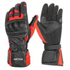 JET Motorcycle Motorbike Gloves Summer Vented Hard Knuckle Touch Screen Gloves Men ATV Riding ECCO Medium, Orange