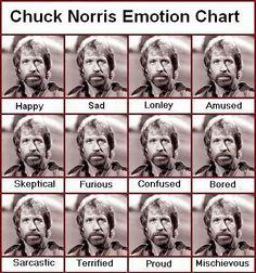 chuck norris emotions - Пошук Google