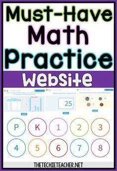 Must-Have Math Practice Website: Open-Ended Practice for grade - If the class has computers, this would be a great thing to add to the lesson plans. Or could even spend a day in the lab working on these tasks. Math Tutor, Teaching Math, Maths, Math Multiplication, Learn Math Online, Online Math Practice, 8th Grade Math, Math For 1st Graders, Sixth Grade