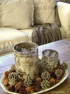 50+ ΧΕΙΜΕΡΙΝΕΣ Συνθέσεις-Διακοσμήσεις με ΚΕΡΙΑ | ΣΟΥΛΟΥΠΩΣΕ ΤΟ