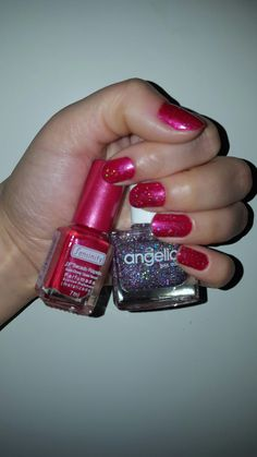 Shiny red with extra sparkle