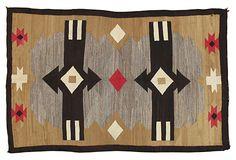 """Antique Navajo Rug, 4'6"""" x 7'"""