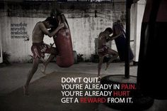 Pain is temporary!