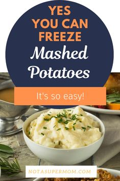 Make Thanksgiving so easy by making ahead and freezing your mashed potatoes. Never mealy, always creamy and extra delicious. Freezing Mashed Potatoes, Leftover Mashed Potatoes, Cheesy Potatoes, Baked Potatoes, Thanksgiving Dinner Recipes, Holiday Recipes, Frozen Meals, Side Dish Recipes, Amigurumi