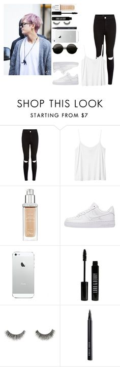 """""""Date W/ Taehyung xxx"""" by elena-peggy ❤ liked on Polyvore featuring Monki, Christian Dior, NIKE, Lord & Berry, River Island, Bobbi Brown Cosmetics, women's clothing, women, female and woman"""