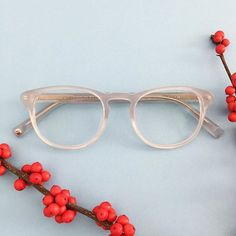 Baker in Glacier Grey from the Warby Parker Winter 2015 collection.