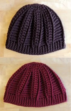 Crochet - Cable Hat! Great for teens!