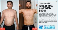 My buddy Gio just won $500 for his family by submitting his Beachbody results in the Beachbody Challenge.  I LOVE being a Beachbody Coach!