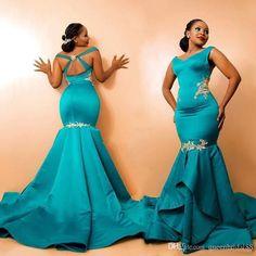African Evening Dresses, Mermaid Evening Dresses, African Fashion Dresses, African Dress, Ghanaian Fashion, African Wear, African Style, African Women, Special Dresses
