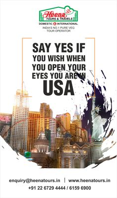 Say yes if you wish when you open your eyes you are in USA..!!