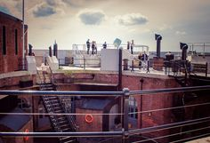 Spitbank Fort, Portsmouth by JengaPix, via Flickr Isle Of Wight, Forts, Portsmouth, Hampshire, England, Train, Vacation, Wedding, Valentines Day Weddings