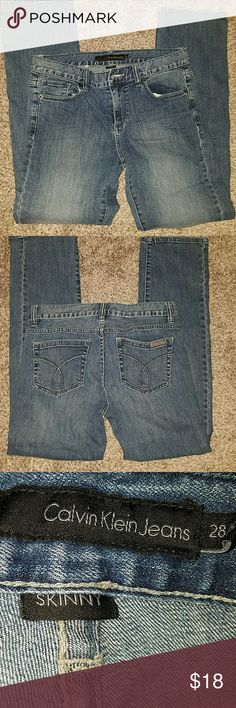 Calvin Klein Skinny.  Inseam 30 Calvin Klein Jeans Jeans Skinny