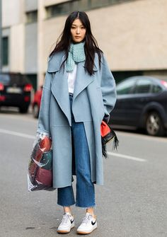 How to Wear Sneakers With Just About Any Outfit - SELF