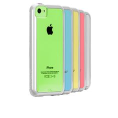 I want the #CaseMate Naked Tough Case for iPhone 5C in Clear/White from Case-Mate.com