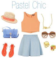 """Pastel Chic"" by eternal-sparkles-stylist on Polyvore"