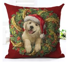 The cutest animal pillow cases! Check them out today! https://www.fourthehome.com/products/merry-christmas-pillowcases