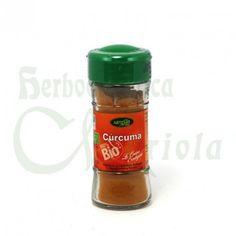 Artemis BIO, Especias Cúrcuma, su sabor es suave al igual que su aroma, principalmente se utiliza por el color anaranjado que da a la comida. Se utiliza como