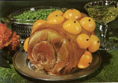 """Outback Apricot Gammon Roast  from """"International Restaurant Food - Sydney"""" c. early 1970s"""