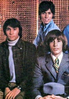 Bee Gee's early days. Here the twins, Maurice & Robin look more alike than in later years.